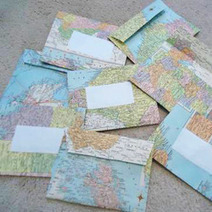 Great Uses for Old Maps | Craftster Blog | Digital Cartography | Scoop.it
