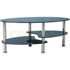 Seconique Cara Black Glass Coffee Table | Glass Coffee Tables | Scoop.it