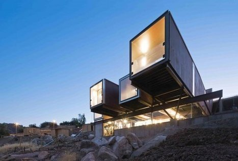 Caterpillar  House: Contemporay Prefab Construction in Santiago, Chile | Picto Communication Partner | Scoop.it