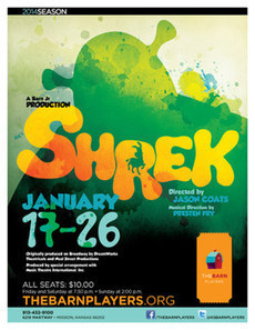 'Shrek: The Musical' comes to the Barn in January - examiner.com | OffStage | Scoop.it