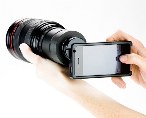 SLR Lens Adapters for iPhone Allow Pro Photos : Discovery News | Appertunity's fun & creative iphone news | Scoop.it