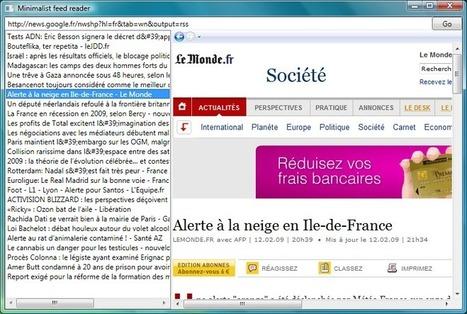 Créer un lecteur RSS en 5 minutes [.NET] | Time to Learn | Scoop.it