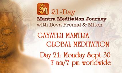 Deva Premal & Miten - Gayatri Mantra Global Meditation Monday ... | Baby Lullabies and Meditation | Scoop.it