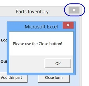 Create an Excel UserForm   ITQ   Scoop.it