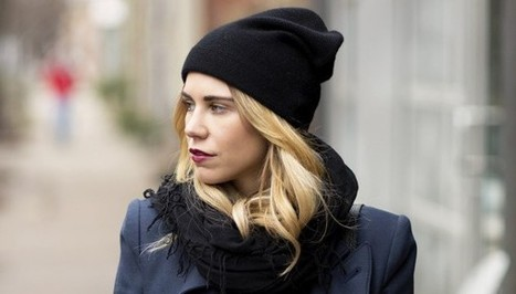 The Best Slouchy Knit Hats In Case You're Not A Fedora Or Floppy Hat Person   Fiber Arts   Scoop.it