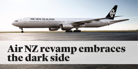 Air New Zealand is going black for good | timms brand design | Scoop.it