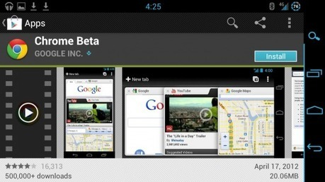 """Chrome for Android leaving beta """"in a matter of weeks"""" 