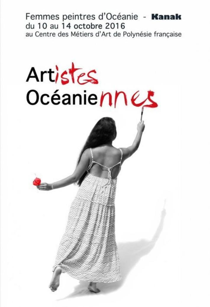 Femmes peintres d'Océanie : l'art Kanak contemporain féminin au Centre des Métiers d'Art | Polynésie 1ère | Kiosque du monde : Océanie | Scoop.it