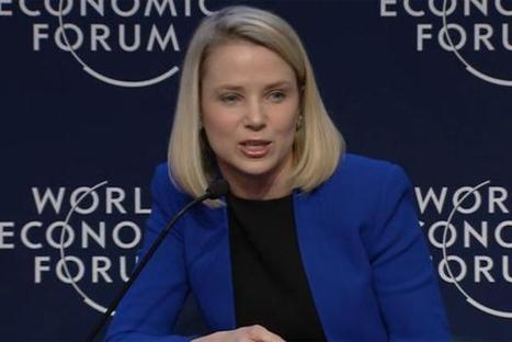 Davos: Yahoo boss Marissa Mayer says Internet of Things will create 'tipping point' | Marketing Magazine | Scoopedia | Scoop.it