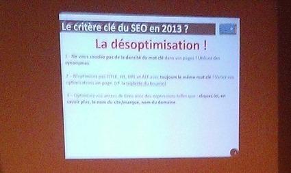 La désoptimisation, la tendance #SEO de 2013 ? - Blog Moteurs | Création de trafic Web | Scoop.it