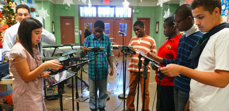 Students in Special Education Classroom Use iPads to Make Music - Technapex | Facilitated classroom | Scoop.it