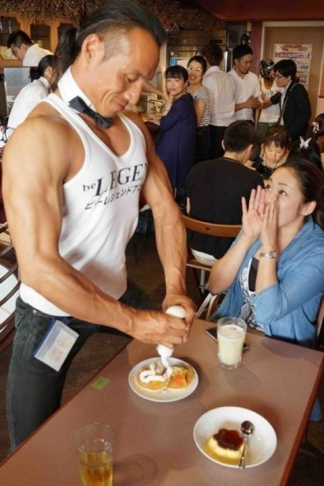Japan's Macho Cafe Is Like Hooters for Women | Strange days indeed... | Scoop.it