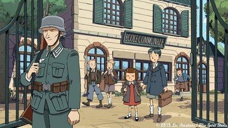 Avant-première: Une série animée sur les années de guerre en Normandie au Mémorial de Caen – Mémorial de Caen - France 3 Basse-Normandie | Nos Racines | Scoop.it