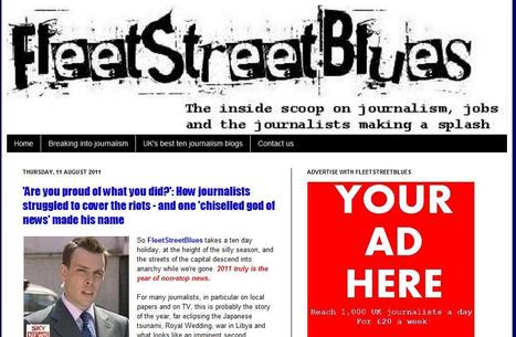 Fleet Street Blues | Top sites for journalists | Scoop.it