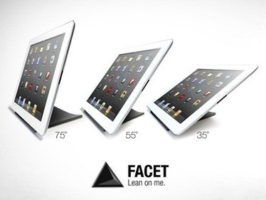 Cool Things: FACET Pyramid iPad Stand | iPad Insight | iPads, MakerEd and More  in Education | Scoop.it
