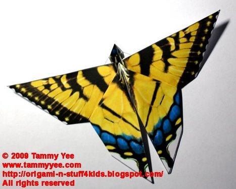 Tammy Yee's Origami Page- easy paper folding crafts for children. | l'art et la créativité . | Scoop.it