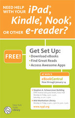 Get Help Setting Up Your New E-Reader at NYPL | LibraryLinks LiensBiblio | Scoop.it