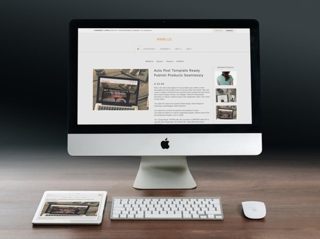 Premade Responsive Blogger Store Theme BlogrCart MNMLUS Freemium Version | Blogger themes | Scoop.it