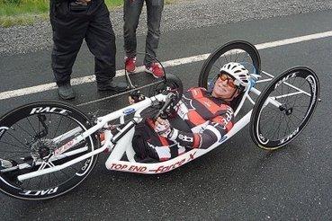 Une jambe, deux bras, trois roues | Mylène Moisan | Chroniqueurs | Déficience physique et neurologique | Scoop.it