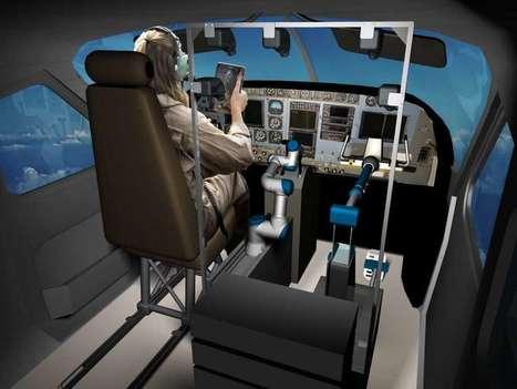 Alias, le robot qui peut piloter n'importe quel avion | Une nouvelle civilisation de Robots | Scoop.it