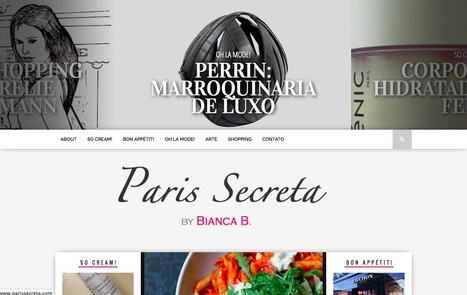 New Blog: Paris secreta.com | Luxe et Internet | Scoop.it