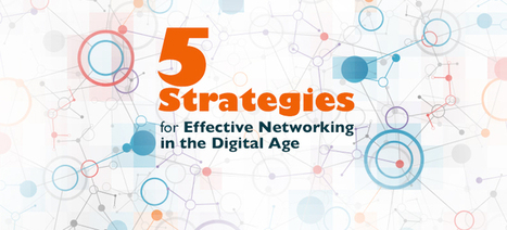 5 Strategies for Effective Networking in the Digital Age | social learning for change | Scoop.it