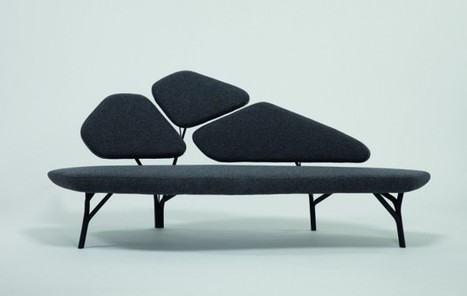 Borghese Sofa by Noé Duchaufour Lawrance for La Chance | Furniture Design | Scoop.it