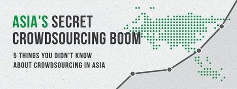 Crowdsourcing Is Booming In Asia | TechCrunch | Transmedia Landscapes | Scoop.it