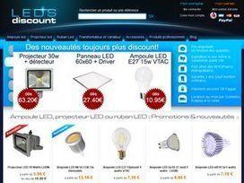 Leds discount, vente en ligne d'éclairage LED de qualité à prix discount | Econo-logis | Scoop.it