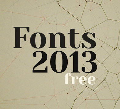 100 Greatest Free Fonts Collection for 2013 | Webdesign - Inspiration & Ressources | Scoop.it