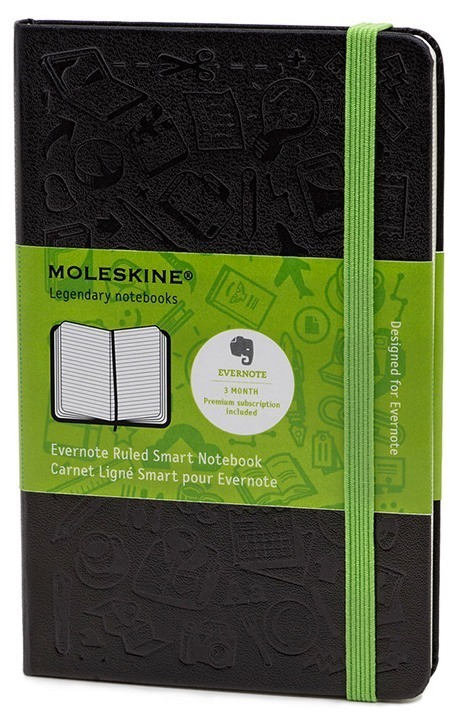 Evernote And Moleskine Team Up To Create A Smart Notebook For iOS Users | 9ine + education + technolog