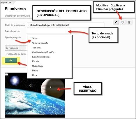Creando videocuestionarios en Google Drive | Pedalogica: educación y TIC | Scoop.it