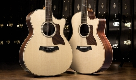 Taylor Guitars Celebrates 40th Anniversary Year with New 800 ... | Acoustic guitars | Scoop.it