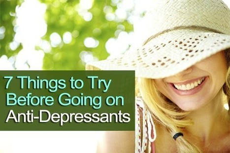 7 Things to Try Before Resorting to Antidepressants | Business Coaching | Scoop.it