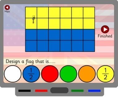SMART Board Goodies » Interactive activity to teach fractions | teaching fractions | Scoop.it