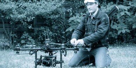 Anquetil, champion français du drone de cinéma   Drone   Scoop.it