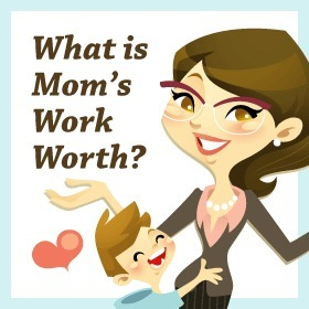What is a Mom's Work Worth? [infographic]   EPIC Infographic   Scoop.it