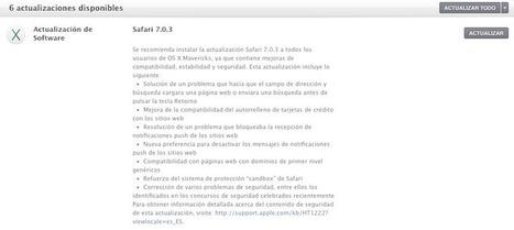 Apple lanza Apple lanza Safari 7.0.3 para Mavericks con mejoras | apple-ipe | Scoop.it