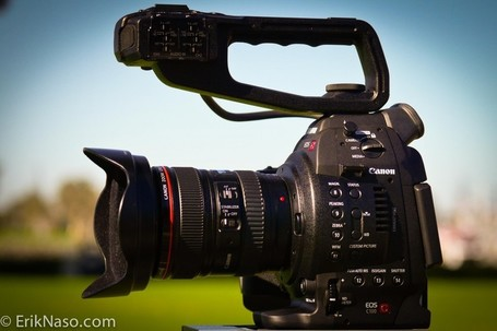 "Canon C100 Hands On Review | ""Cameras, Camcorders, Pictures, HDR, Gadgets, Films, Movies, Landscapes"" 