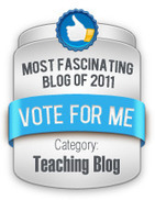 E-Learning Certificate Blog: Nominated, Care to Vote? | 21st Century Information Fluency | Scoop.it