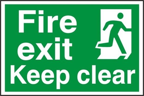 OSHA Compliant Fire Exit Signs: Which Material to Choose? | Seton Blog | Scoop.it