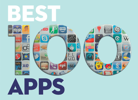 Top 100 apps - the definitive guide | Mobile Learning  & Tourism | Scoop.it
