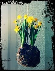Initiales GG, une fille mais pas que...: DIY : ma version des fleurs suspendues au plafond! | DIY DIY | Scoop.it