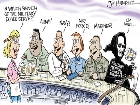 Military Mental Health Services AWOL | Social Mood Watch | Scoop.it