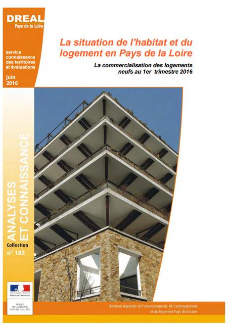 DREAL > La commercialisation des logements neufs en Pays de la Loire - 1er trimestre 2016  : le meilleur début d'année pour les ventes d'appartements depuis 2007   Observer les Pays de la Loire   Scoop.it