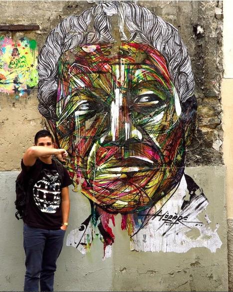By Hopare of Nelson Mandela in Paris, France | Arts & Co | Scoop.it