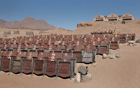 End of the World Cinema: An Abandoned Outdoor Movie Theater in the Desert of Sinai | Strange days indeed... | Scoop.it