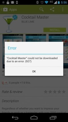 Google Play experiencing issues for most everyone | Android On Stick | Scoop.it
