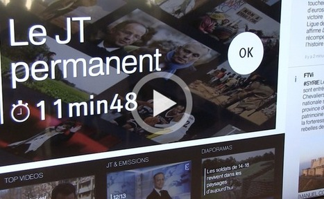 France Télévision se lance dans la « télévision augmentée » | second screen | Scoop.it