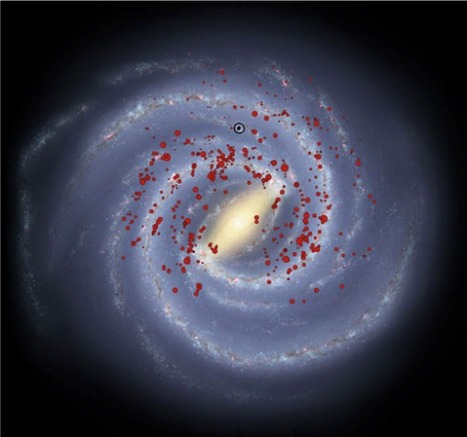 Massive stars demonstrate that Milky Way has 4 spiral arms not 2 | Amazing Science | Scoop.it